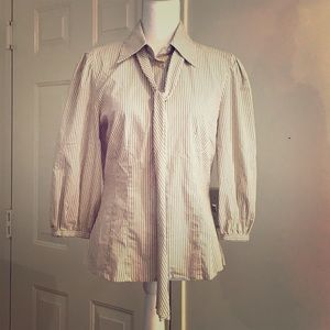 Antonio Melani long sleeve button down shirt